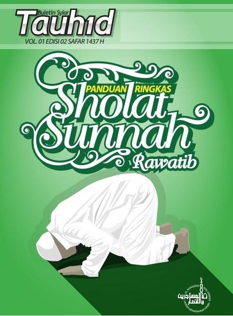 Panduan Ringkas Sholat Sunnah Rawatib